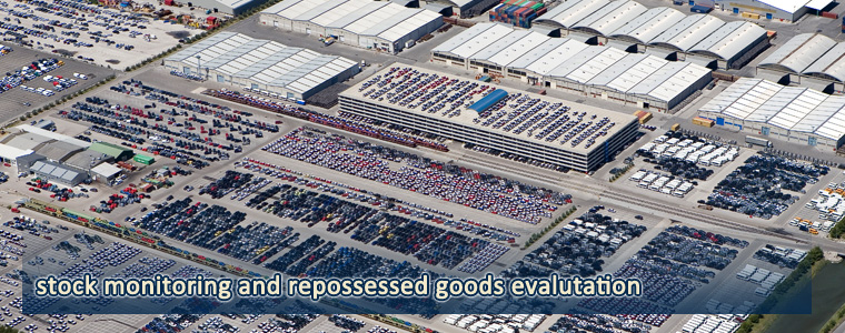 Stock monitoring and Repossessed goods evaluation